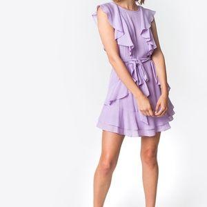 Sugarlips Lilac Lu Ruffle Dress